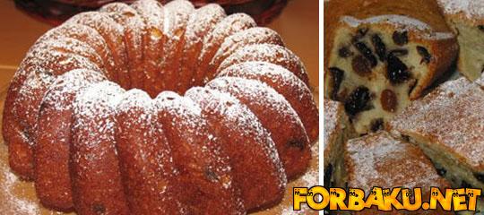 Yoqurtlu keks [hazırlanması]